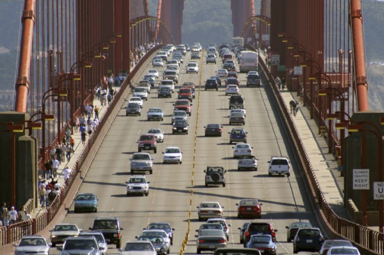 Cars On the Golden Gate Bridge By Car Accident Attorney In San Francisco